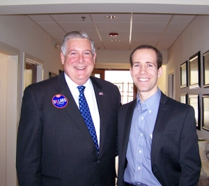 State Senator Kirk Dillard with Troy Golden