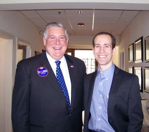 State Senator Kirk Dillard with Troy Golden